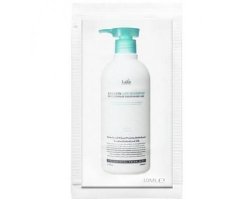 Пробник шампуня для волос с кератином LADOR Keratin Lpp Shampoo - 10 мл