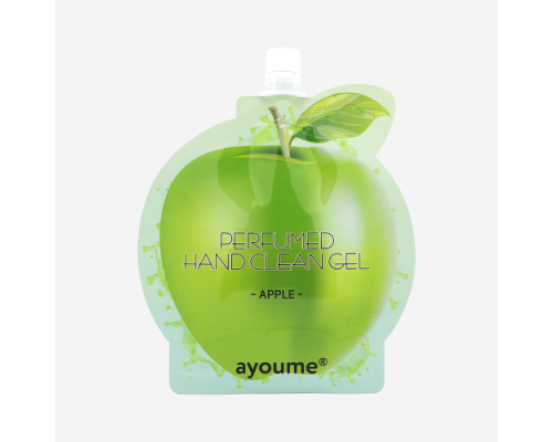 Крем-антисептик для рук яблочный AYOUME PERFUMED HAND CLEAN GEL APPLE - 20 мл