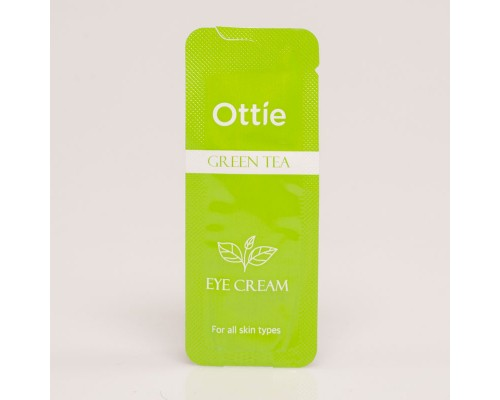 Пробник крема для век с зеленым чаем Ottie Green Tea Eye Cream - 1 мл
