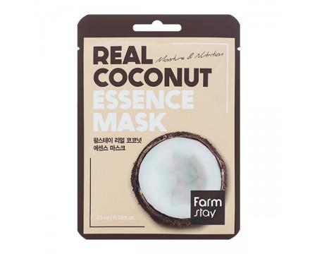Тканевая маска для лица с кокосом