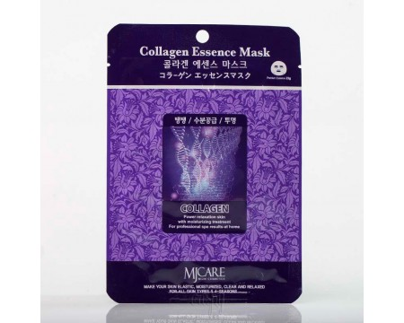 Омолаживающая маска для лица с коллагеном Mj Care collagen Essence Mask - 23 г
